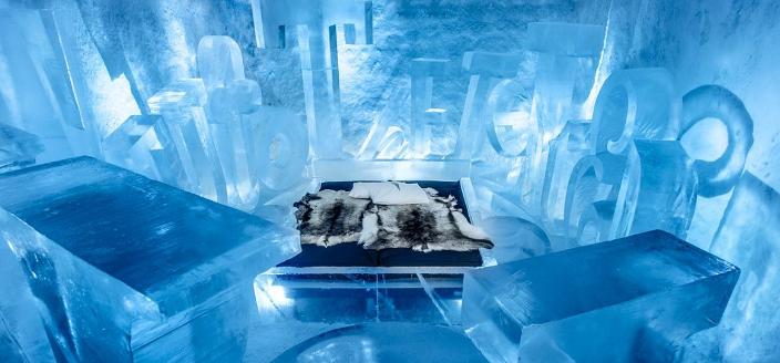 Dormir dans un hôtel de glace : une expérience à tester