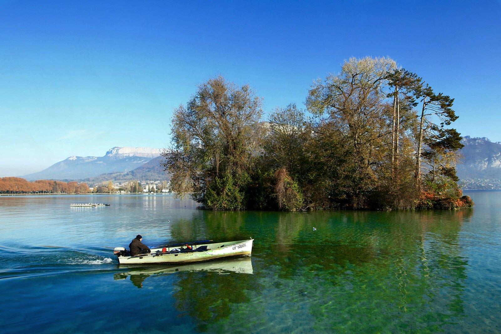 Fans de pêche, rendez-vous à Annecy